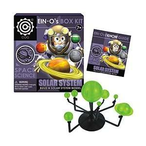 Ein Os Space Science Solar System Box Kit Toys & Games