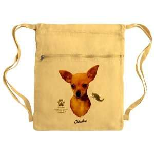 Sack Pack Yellow Chihuahua from Toy Group and Mexico