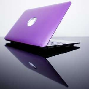 com TopCase Metallic Solid Purple Hard Case Cover for NEW Macbook Air