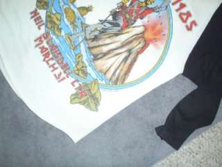 Iron Maiden 85 Hawaii Tour Jersey World Slavery Tour
