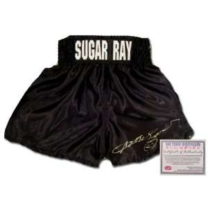 Sugar Ray Leonard Hand Signed Autographed Custom Name