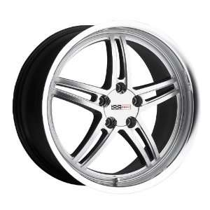 18x9 Cray Scorpion (Hyper Silver) Wheels/Rims 5x120.7