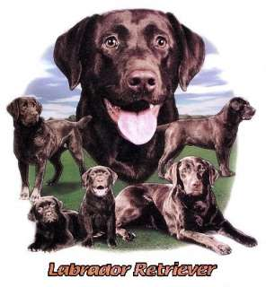 CHOCOLATE LAB LABRADOR RETRIEVER DOG TANK TOP & T SHIRT