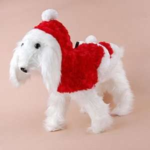 Cute Warm Pet Dog Santa Christmas Dress   Red S Pet