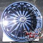 New Davin Dub Emotion Spinners 28 6x139.7 Chrome Rims