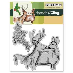 NIP Penny Black   Forest Friends   Unmounted rubber stamp