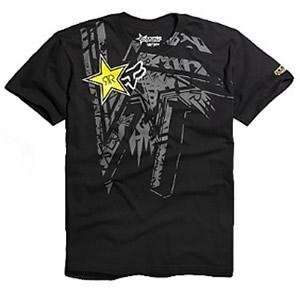 Fox Racing Rockstar Tonic T Shirt   Small/Black