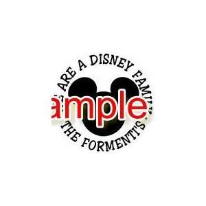 DISNEY FAMILY CIRCLE WHITE VINYL DECAL STICKER Everything