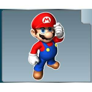 MARIO from Super Mario Bros. vinyl decal sticker #1