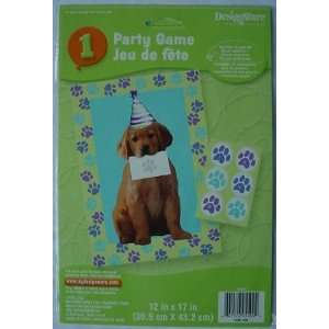 Adorable PUPPY Kids Party Game GOLDEN RETRIEVER Dog Toys & Games