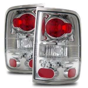 04 06 Ford F 150 Chrome Tail Lights (LED Style