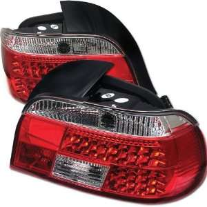 Redlines TL BE3997 LED RC Red/Clear Medium LED Tail Light for BMW E39