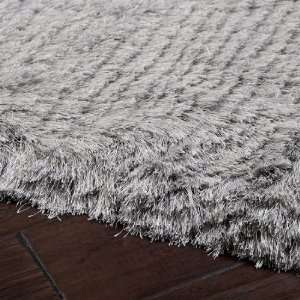 8 x 10 Dunn Light Gray Shag Area Throw Rug