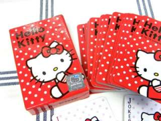 now free cute sanrio hello kitty mini playing play card red search