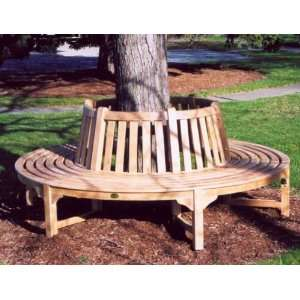 Jewels of Java Teak Tree Bench Patio, Lawn & Garden