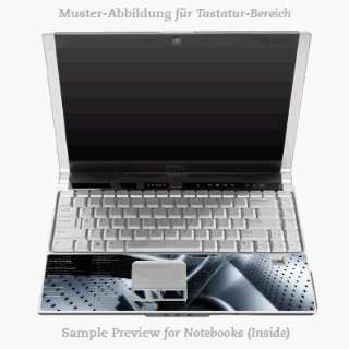 Inlay)   Chrome Tunnel Laptop Notebook Decal Skin Sticker Electronics