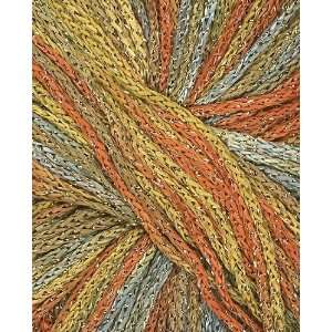 Gatsby Lux Yarn 3800 Apricot/Light Blue/Gold Arts, Crafts & Sewing