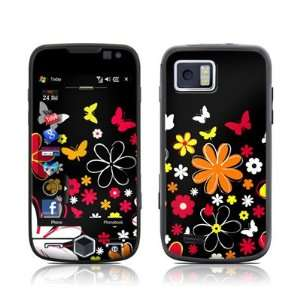 Lauries Garden Design Skin Decal Sticker for the Bell Samsung Omnia 2