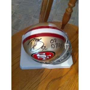 PATRICK WILLIS SIGNED AUTOGRAPHED SAN FRANCISCO 49ERS MINI HELMET COA