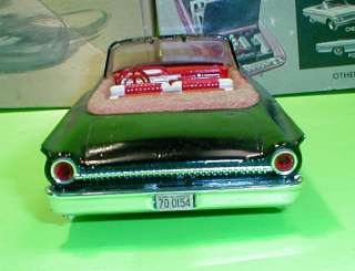 AMT 1961 Ford Galaxie Sunliner Convertible Annual Original Parts Car
