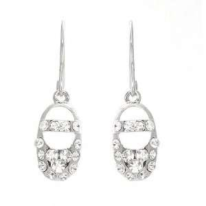 Perfect Gift   High Quality Sparkling Ballet Shoes Earrings with