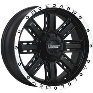 Gear Alloy Nitro 20x9 Black Wheel / Rim 5x5.5 & 5x150 with