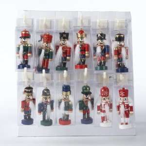 New   Club Pack of 48 Wooden Nutcracker Soldier Clip On