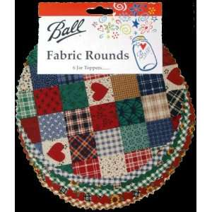 Ball Fabric Rounds Arts, Crafts & Sewing