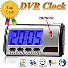 Mini Digital Hidden Spy Camera Clock w Remote Control Motion Detection