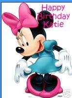 Minnie Mouse edible cake image cake topper