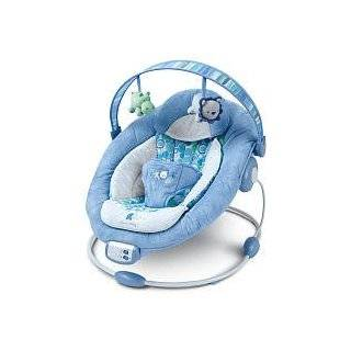 Bright Starts Comfort & Harmony Baby Bouncer   Blue