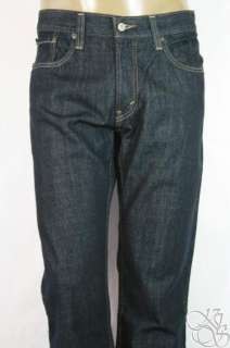 LEVIS JEANS 527 Low Boot Cut Straight Fit Tumbled Rigid Denim Mens