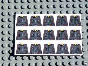 Custom Lego German Army Soldier WWII Decals