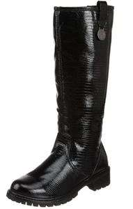 WOMENS KHOMBU SNAKE KNEE HIGH BOOT FAUX FUR 2 COLORS NEW IN BOX Retail