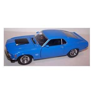 Scale Diecast 1970 Ford Mustang Boss 429 in Color Blue Toys & Games