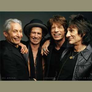 Rolling Stones Tour London 02 Giclee on Canvas