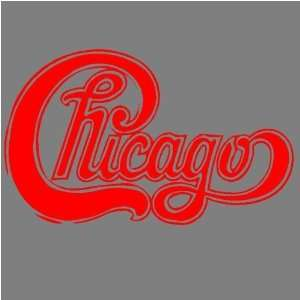 CHICAGO (RED) DECAL STICKER WINDOW CAR TRUCK TRAILER