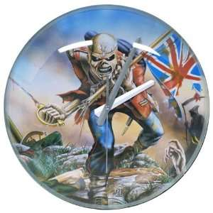 Iron Maiden   The Trooper Bubble Wall Clock