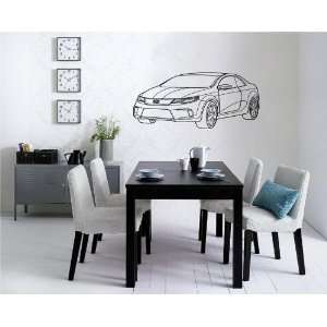 KIA Coup Concept Wall Decor Vinyl Decal Sticker D 673