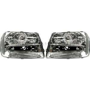 CLEAR HEADLIGHT chevy chevrolet TRAILBLAZER 02 05 EXT head Automotive