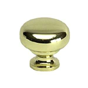 Berenson 7316 303 P Plymouth Polished Brass Knobs Cabinet Hardware