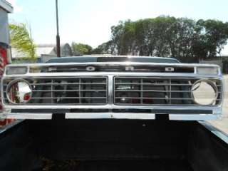 74 FORD TRUCK PICKUP F100 F150 F250 F350 ALUMINUM GRILLE AND SHELL 73