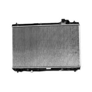 TYC 2377 Toyota Highlander 1 Row Plastic Aluminum Replacement Radiator