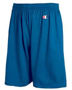 Champion Cotton Jersey Shorts Sport Workout Any CLR/SZ