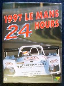 LE MANS 24 HOUR RACE ANNUAL 1997 SPORTS CAR MOTOR RACING ENGLISH TEXT