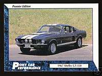 1967 67 FORD MUSTANG SHELBY GT 350 Car Picture CARD