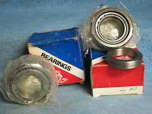 1966 67 68 69 70 71 72 73 74 Mopar Rear Wheel Bearings Pair New