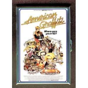 KL GEORGE LUCAS AMERICAN GRAFFITI ID CREDIT CARD WALLET CIGARETTE CASE