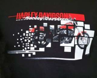 Harley Davidson Las Vegas Dealer Dyna T Shirt Black MEDIUM #DXTS