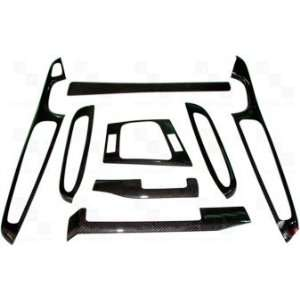LHD  8 Piece Overlay Kit  Black Carbon Fiber Overlay Kit Automotive